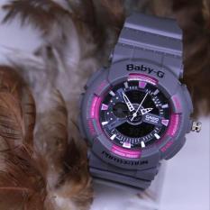 BABY G CASIO GA 110 GREY (PINK)