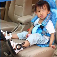 Keselamatan Bayi Kursi Bayi Anak Kursi Kid Car Kursi Pad Perlindungan Bayi untuk BMW-Biru-Intl