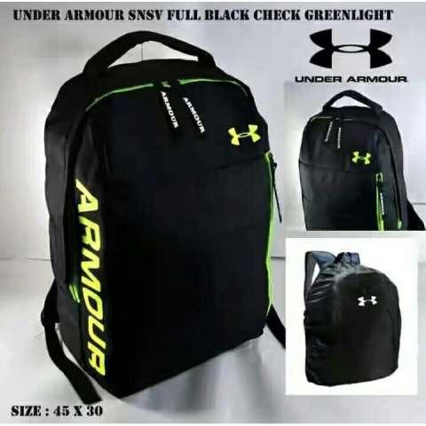 Backpack Under Armour SNSV Full Black Check Greenlight