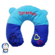 Bantal Leher Karakter Doraemon / Bantal U / Bantal Mobil / Travel Pillow