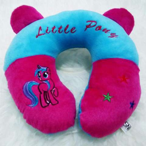 Bantal Leher Karakter Frozen Little Pony Travel Pillow Neck Pillow