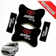 Bantal Mobil Toyota AVANZA VELOZ - 2 in 1 (Car Seat Sandaran Jok Mobil)