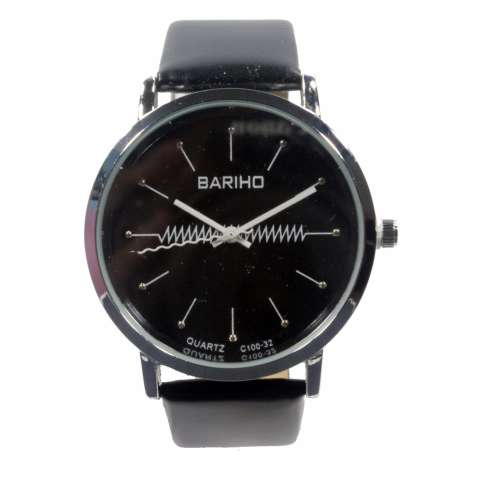 Bariho - jam tangan fashion analog - FIN-72 - Black