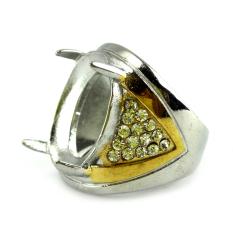 Beau Ring Cincin Emban Platinum - TA1
