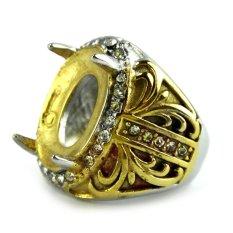 Beau Ring Cincin Emban Platinum - TB1
