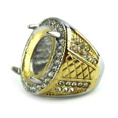 Beau Ring Cincin Emban Platinum - TB5