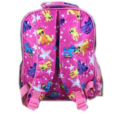 BGC 5 Dimensi Gambar Rubah2 My Little Pony Tas Ransel Anak Sekolah TK 3 Kantung IMPORT