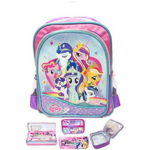 ... Sd Set Dengan Lunch Bag Lapis Aluminium Import. BGC Disney My Little Pony Pinkie Best Friends 2 Kantung Tas Ransel Sekolah Anak Sekolah TK