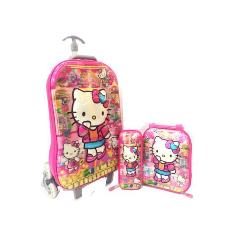 ... Troley T Samurai + Lunch Box + Kotak Pensil. Source · IMPORT HARD COVER TAS ANAK SEKOLAH. BGC Hello Kitty 2 Koper Set .