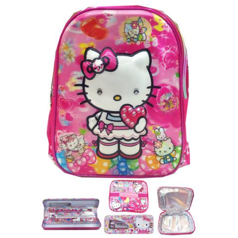 4 Kantung Import Tas Ransel Sekolah Anak Source · BGC Hello Kitty 5D .