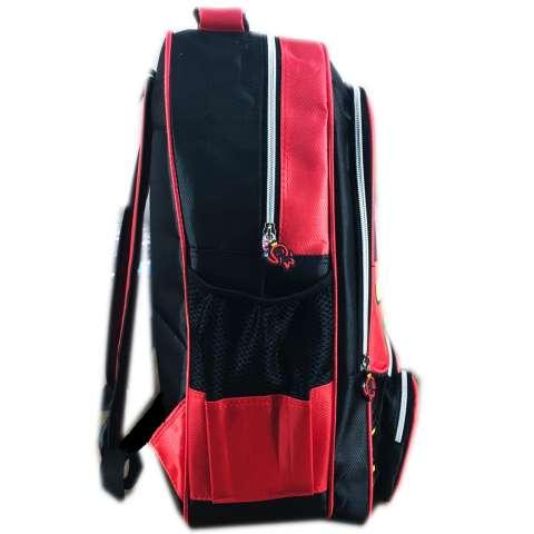 BGC Tas Ransel Sekolah Anak TK Cars McQueen 3D Muka Timbul + Lunch Bag Aluminium Tahan