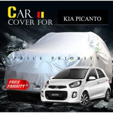 Body Cover / Sarung Mobil / Cover Mobil Kia Picanto Polyesther Waterproof
