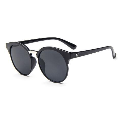 Merek Retro Kacamata Terpolarisasi Lensa Vintage Eyewear Aksesoris Berjemur Kacamata untuk Wanita UV400