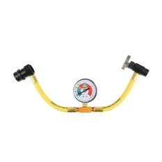 Car & Truck Parts Useful AC Refrigerant Chaging Hose R-134a Can to R12/R22 Port - intl