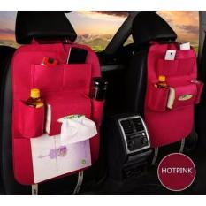 Car Seat Organizer Tas Mobil Multifungsi Dipasang Di Belakang Jok