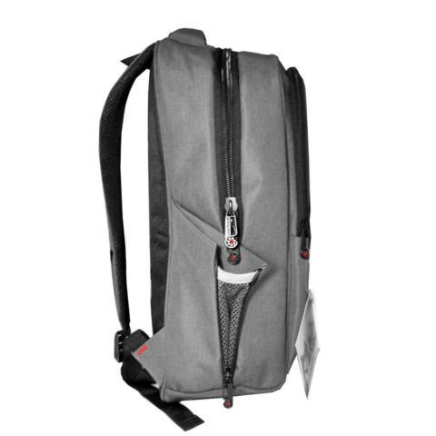 Carboni Make My Day Original Backpack Tas Ransel Laptop 14 Inchi AA00050 - Grey + Raincover
