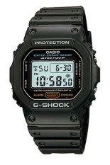 Casio G-Shock Laki-Laki Hitam Damar Tali Pengikat Perhiasan DW-5600E -1