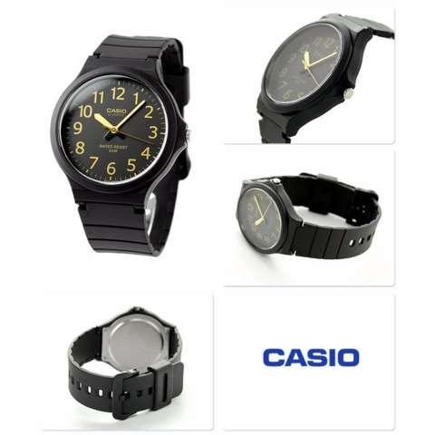 Casio MW-240-1B2VDF Jam Tangan Pria - Hitam Kuning - Karet