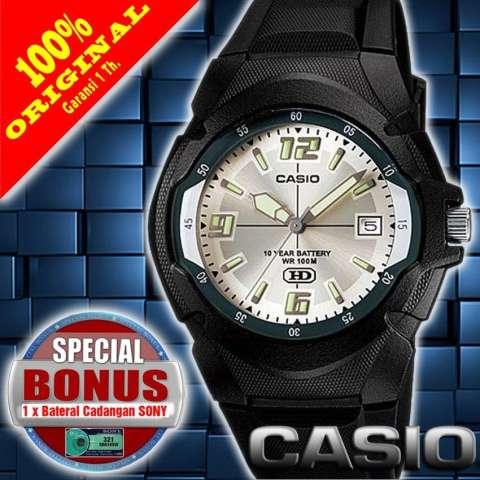 Casio Digital F 200w 1a Jam Tangan Pria Hitam Karet Theme Park Pro Source · Casio MW 600F 2AVRS Jam Tangan Pria Sports Karet Original