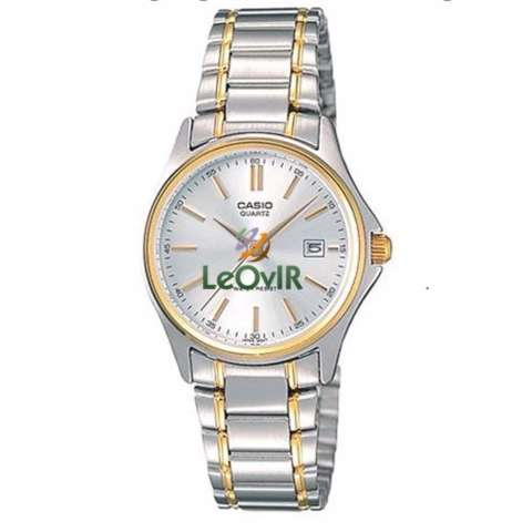 Casio Standard LTP-1183G-7A - Jam Tangan Wanita - Silver Gold - Strap