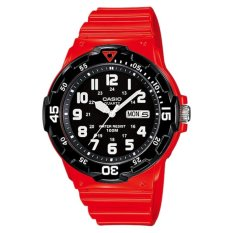 Casio Men's Core Red Plastic Quartz Watch MRW-200HC-4BV