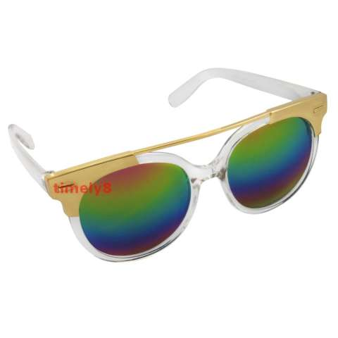 Cat Eye Sunglasses CAT 5019 Clear Rainbow - Kacamata Wanita