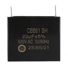 CBB61 SH 22uF MFD 500V AC 50/60Hz E232607 Generator Capacitor AVR - intl