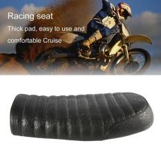 CHEER Crocodile Grain Leather Universal Cafe RACER Seat untuk Honda CG Motor-Intl