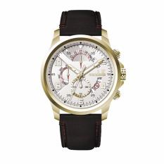 CONDOTTI CN1026-G02-L03 - ESPLORARE - Multifunction - Jam Tangan Pria - Bahan Tali Leather - Hitam - Case Gold