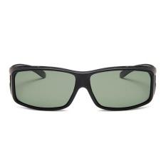 Cool Summer Sail Dipoles Sunglasses Bingkai Besar Pria dan Ladies Outdoor Kacamata Hitam-Pasir Hitam-Intl