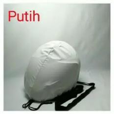 COVER HELM ANTI AIR - Raincoat - Jas Hujan Helm Tas Helm Sarung Helm - Putih