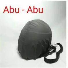 COVER HELM ANTI AIR - Raincoat - Tas Helm Sarung Helm - Abu-abu