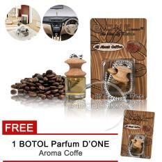 D'one Parfum Mobil Gantung / aksesoris mobil / variasi mobil Aroma Coffe / kopi + Get 1 Free Aroma Kopi