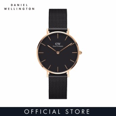 Daniel Wellington Classic Petite Ashfield 32mm Hitam