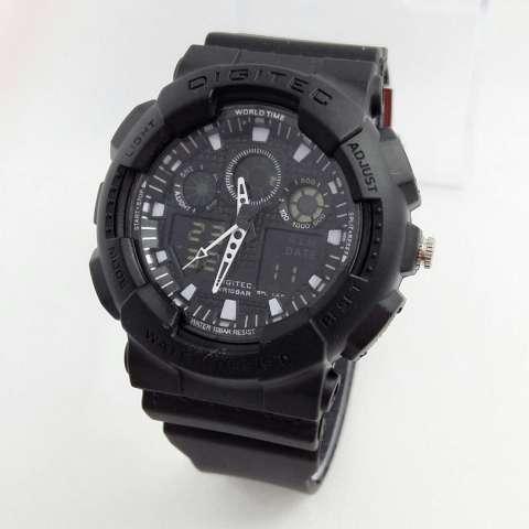 Digitec Dual Time Jam Tangan Sport Wanita Rubber Strap - DG2066