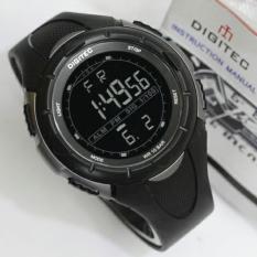 Digitec Jam Tangan Sport Digital DG3019T - Black Grey