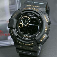 SKMEI Casual Men Rubber Strap Watch Water Resistant 50m Jam Tangan Kasual Pria .