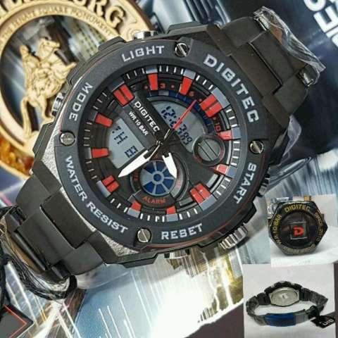 Digitec Rantai DGT 2010 Jam Tangan Pria Model Terbaru