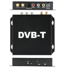 DVB-T Berbagai Channel Mobile Car Kotak TV Digital Analog Mini TV Tuner High Speed 240 Km/h Penerima Sinyal Kuat untuk Mobil Monitor-Intl