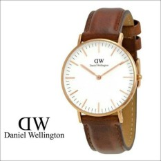 DW Jam Tangan kulit - Terbaru 1345FC - Pria - Daniel-wellington