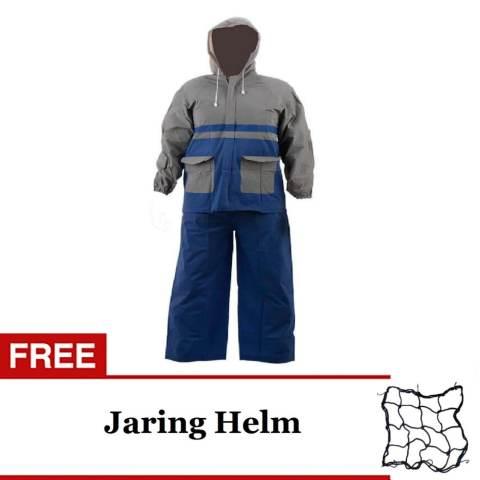 Kinbar Gembok Alarm Super Kuat - Original - Ring Panjang + Gratis Jaring Barang/Helm
