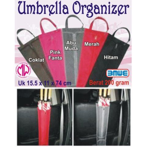 EMWE Car Umbrella Organizer bag Tas menyimpan payung di dalam mobil Home Umbrella Storage Cover Bags