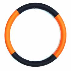 Exclusive Cover Stir / Sarung Stir Mobil / Cover Steer Model: 3-HT/OR-2CL - Orange