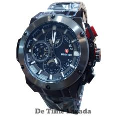 Expedition E6696M Jam Tangan Pria Stainless Steel Hitam