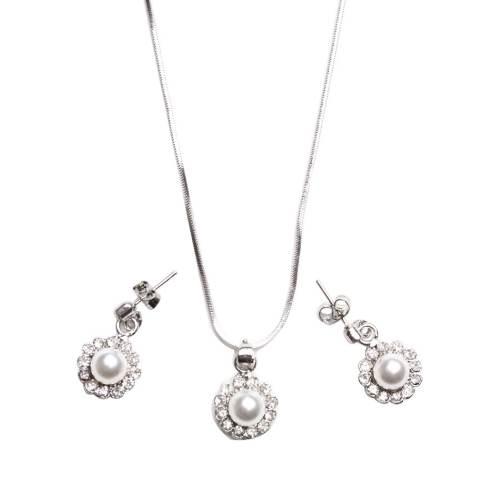 Eyo Jewelry Kalung Wanita SNS 6 SET - Silver