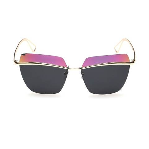 Desain Fashion, 2 Campuran Warna, Hiasan Mata Pengemudi, Cewek Kacamata Hitam Terpolarisasi 1