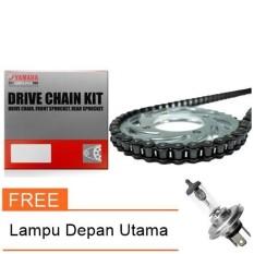 Gear Set Yamaha Vixion Lama Original + Lampu Depan Utama