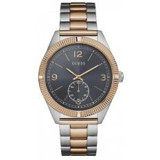 GUESS W0872G2 - Jam Tangan Pria - Stainless - Silver - Rose Gold