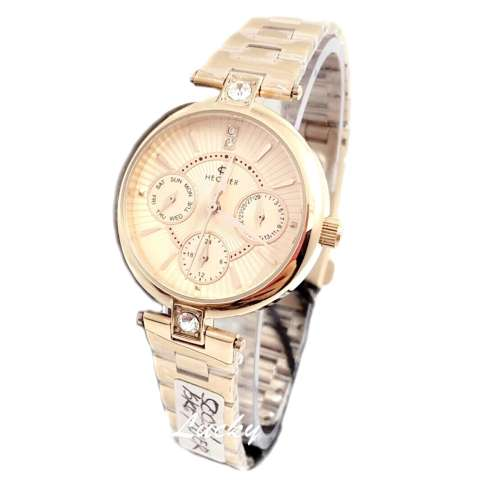 Hegner - H5003L - Jam Tangan Wanita - Stainless Steel - Rose Gold