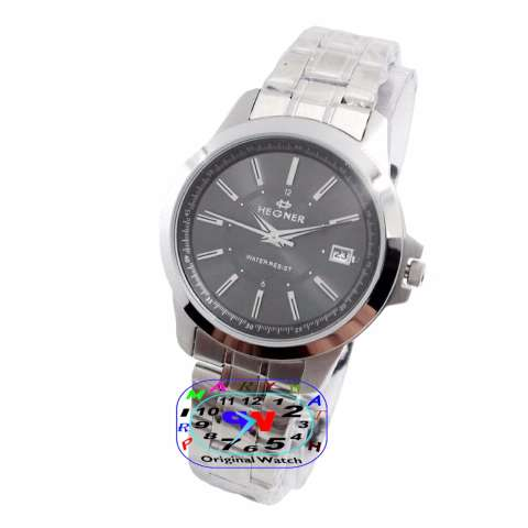 Hegner Jam Tangan Formal Wanita Murah HG1250ST4ADF - All Stainless - Quartz